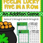 Feelin&#039; Lucky Five in a Row {FREEBIE}