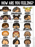 Feelings Chart {for early childhood students}