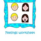 Feelings Complete Pack (worksheets english and spanish)