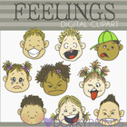 Feelings Digital Clip Art Images