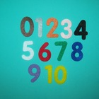 Felt Numbers 0 to 10 (2 inch) Counting