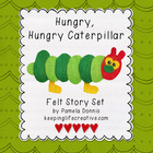 Felt Story Set: Hungry, Hungry Caterpillar