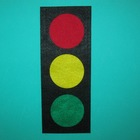 Felt Traffic Light Set