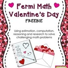 Fermi Math FREEBIE- Valentine's Day- Problem Solving Challenge