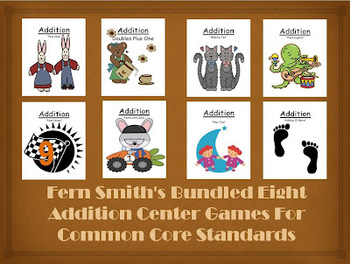 Addition Center Games - Mega Bundle of Forty-Eight Differe