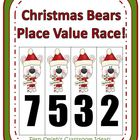 Fern Smith's Christmas Bears Place Value Race Game!