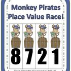 Fern Smith's Monkey Pirates Place Value Race Game!