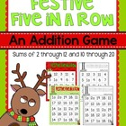 Festive Five in a Row {FREEBIE}
