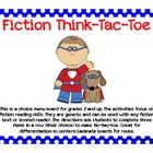 Fiction Leveled Reader Think-Tac-Toe