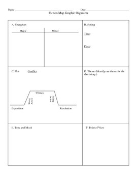 Fiction Map Graphic Organizer