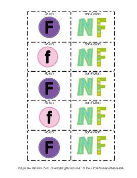Fiction & Non-Fiction Labels