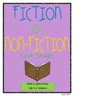 Fiction &amp; Non-Fiction Unit Study