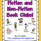 Fiction and Non-Fiction Book Clubs with Student Roles