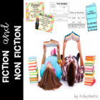 Fiction and Non Fiction Pack with Craftivity { CCSS }