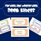 Fiction and Nonfiction Book organization labels