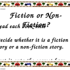Fiction or Non-Fiction Sort Literacy Center Activity