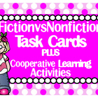 Is it Fiction or Nonfiction? Task Cards & Scoot Game