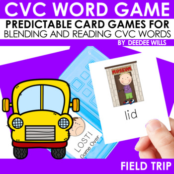 Field Trip CVC Memory Match and Lost! Game