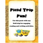 Field Trip predictions, writing activities, and book!