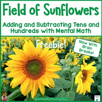 Field of Sunflowers:  Freebie