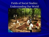 Fields of Social Studies - Introduction