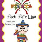 Fiesta Fact Family Math Center (Addition &amp; Subtraction)