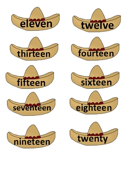 Fiesta number names