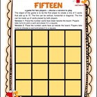Fifteen Math Board Game
