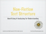 Fifth, Fourth, Third Grade Non Fiction Text Structure Powe
