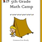 Fifth Grade Math Camp
