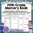 Fifth Grade Memory Book: Tales of a Fifth Grade Someone Al