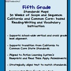 Fifth Grade Standards Maps-California Literacy Standards w