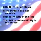Fifty Nifty United States Lyrics Power Point