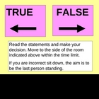 Fighting disease true false game