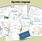 Figurative Language: Full Lessons w/ Handouts & Quiz