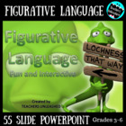 Figurative Language Fun and Interactive PowerPoint lesson