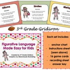 Figurative Language Made Easy - Idioms, Similes, and Metap