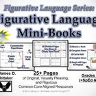 Figurative Language Mini Books Common Core Analysis