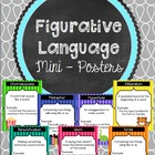 Figurative Language Mini - Posters - Display