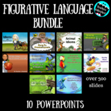 Figurative Language PowerPoint Bundle DOWNLOADABLE