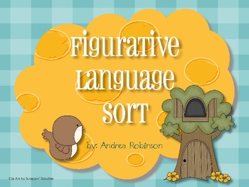 Figurative Language Sort Center