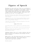Figures of Speech activity