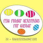 File Folder Activities for Easter