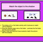 File Folder Activity- Autism/Special Education Matching
