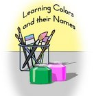 File Folder Game for Learning colors and color words
