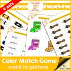 File Folder Games - Colours 2