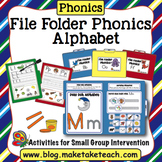 File Folder Phonics- Alphabet