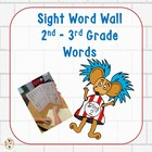 File Folder Word Wall 2nd and 3rd Grade Dolch Words