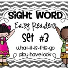 Fill In The Sight Word Readers Set #3 {what, it, is, this,