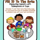 Fill It to the Brim! measure capacity - Tbsp & cups